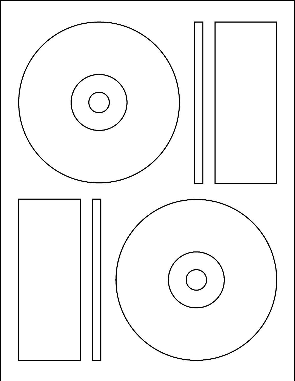 cd label templates