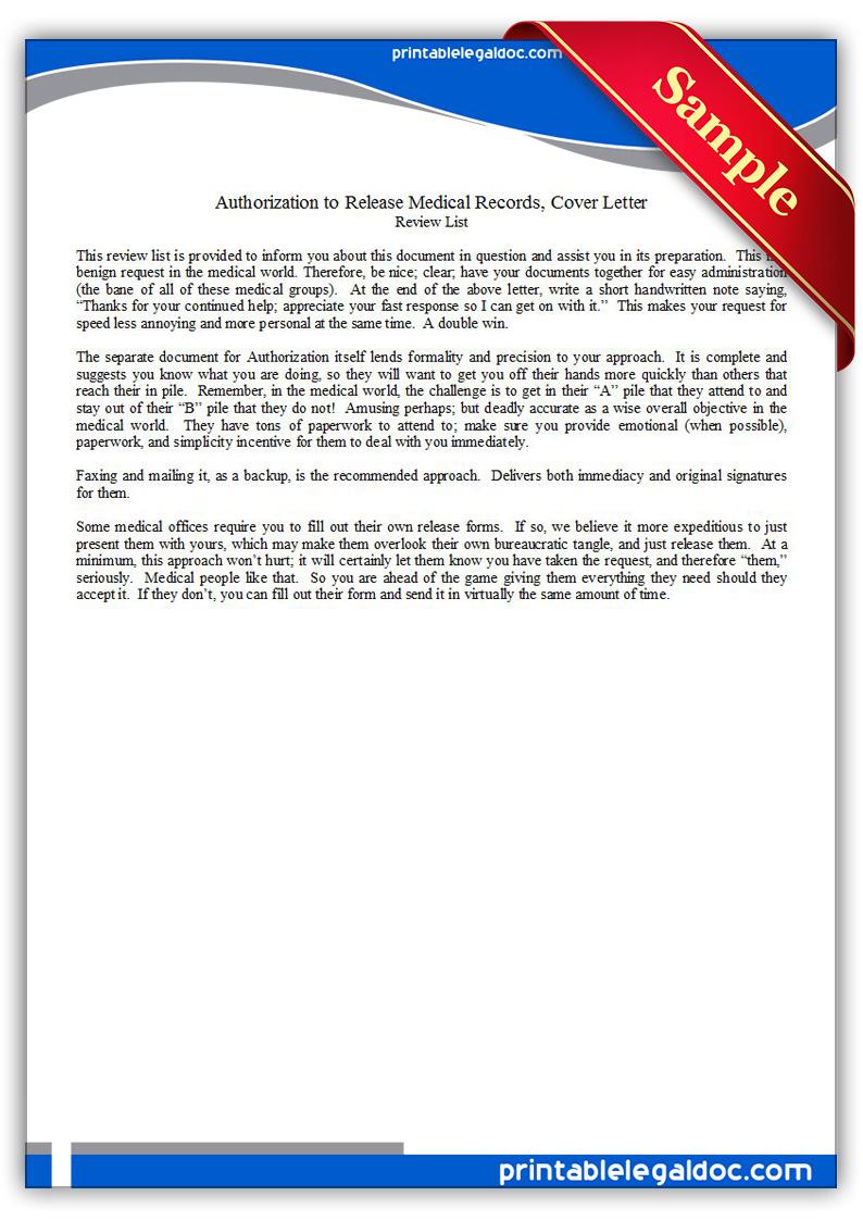 sample letter request medical records