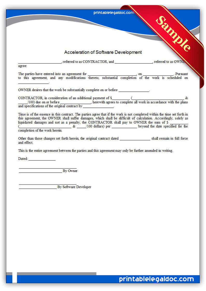generic contract forms