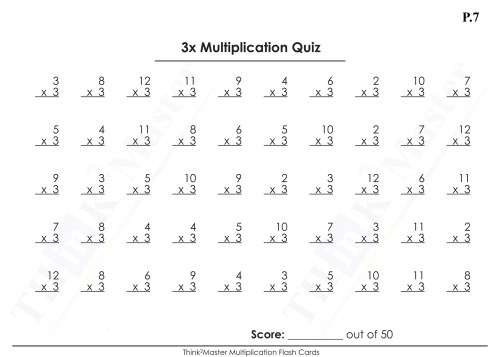 small resolution of Multiplication Worksheet 8x   Printable Worksheets and Activities for  Teachers