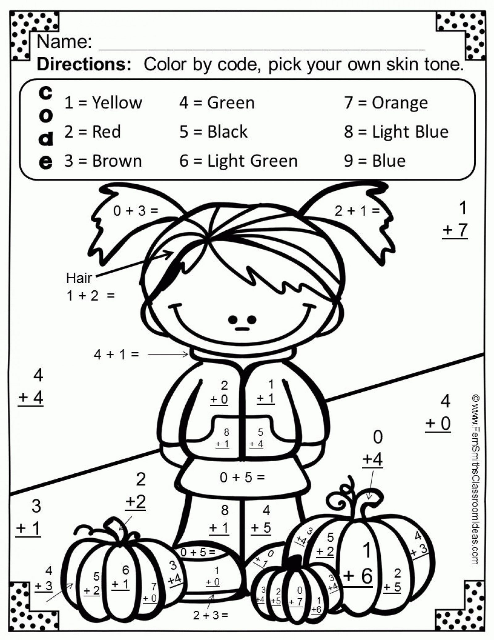 Printable Halloween Multiplication Worksheets