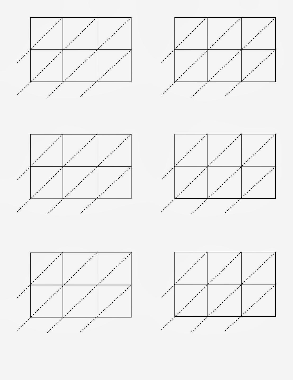 Blank Lattice Worksheet