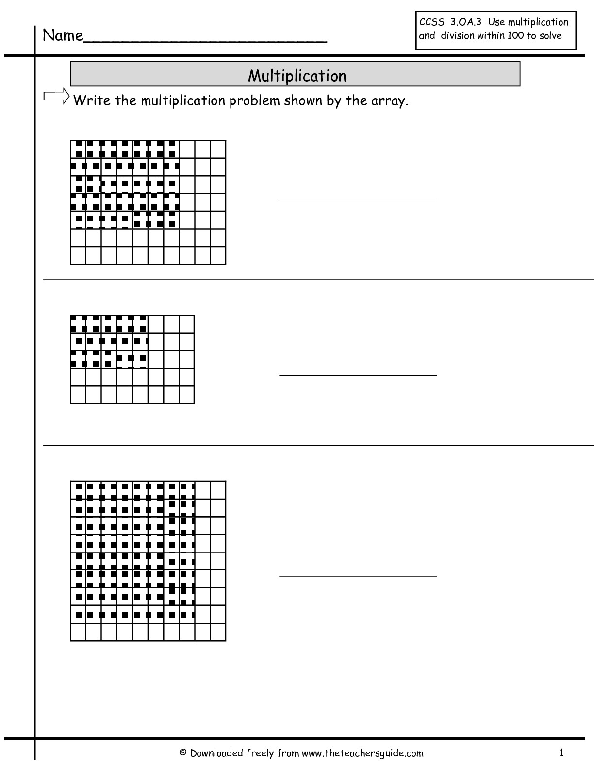 Multiplication Worksheets Excel
