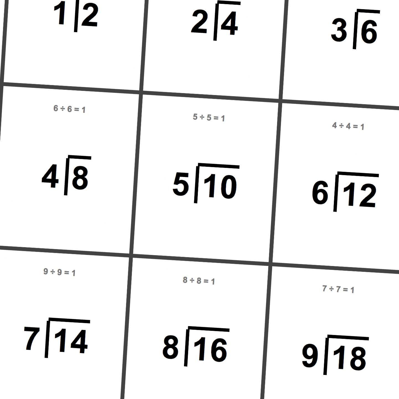 Printable Multiplication Flash Cards 0-9
