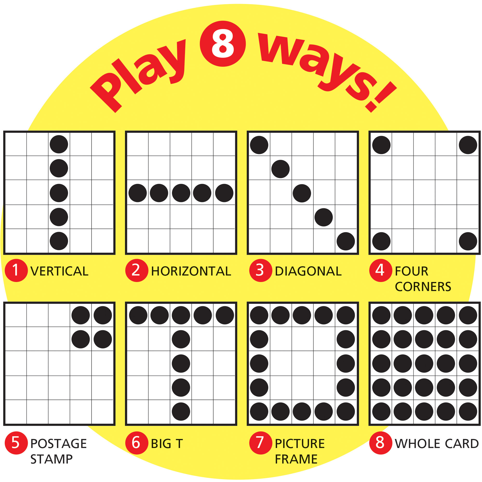 Printable Multiplication Bingo Calling Cards