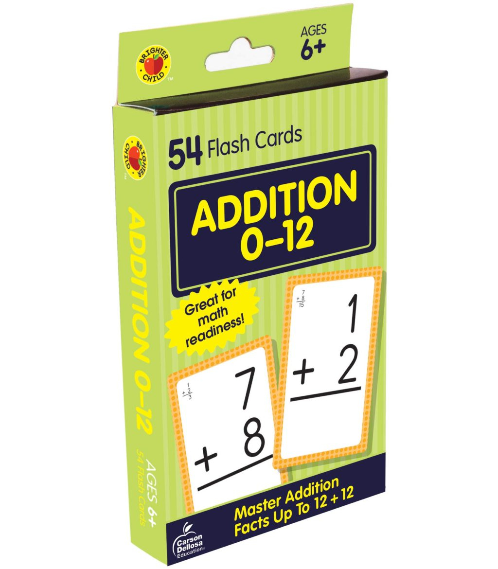 Carson Dellosa Multiplication Flash Cards