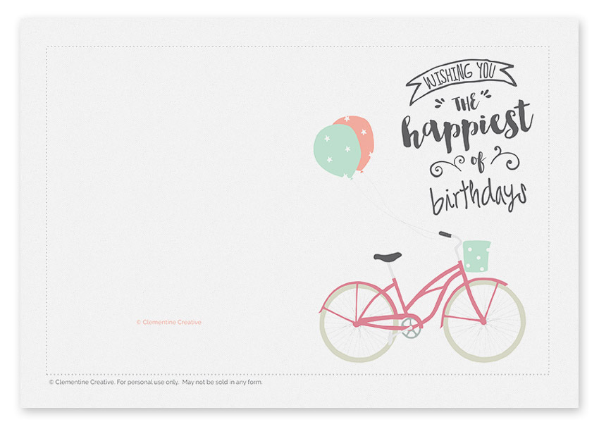 printable-birthday-cards-bicycle-completing-simple-and