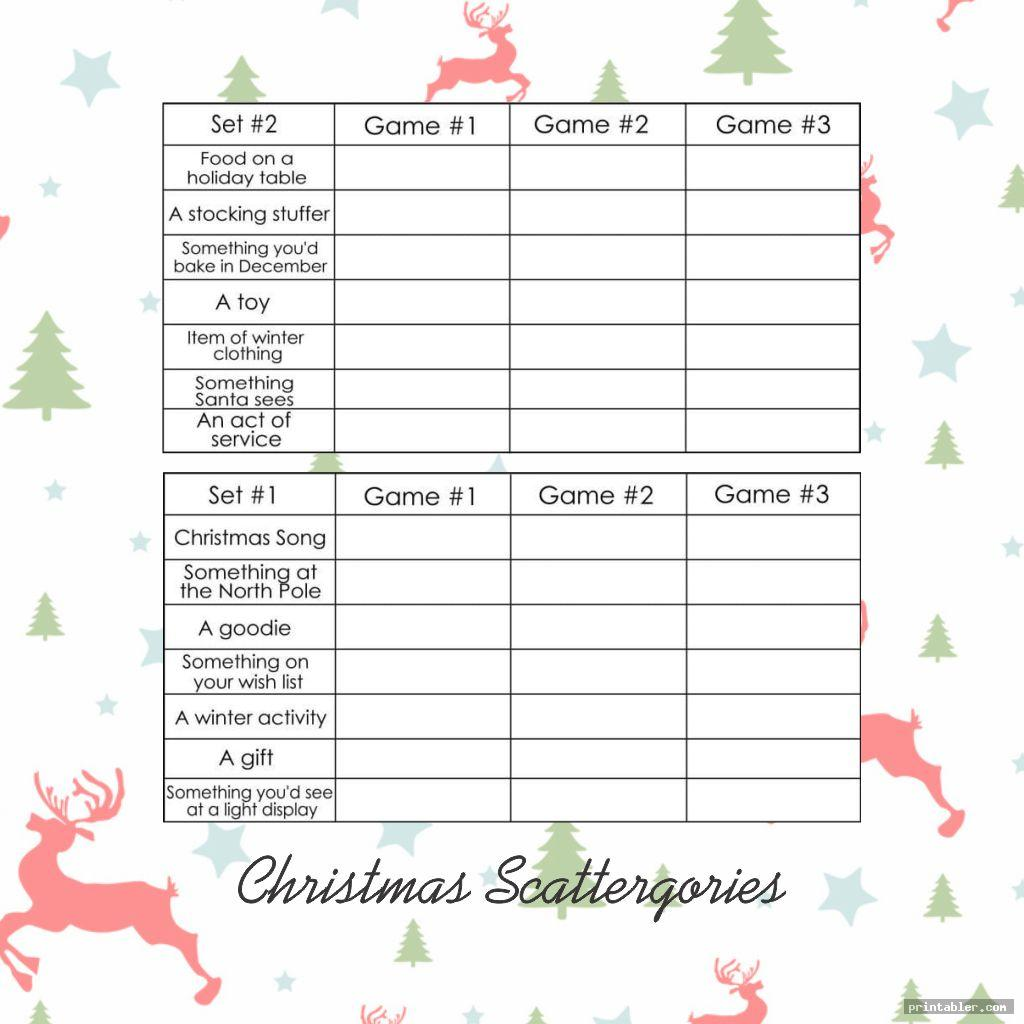 Scattergories Lists 1 12 Printable That Are Satisfactory