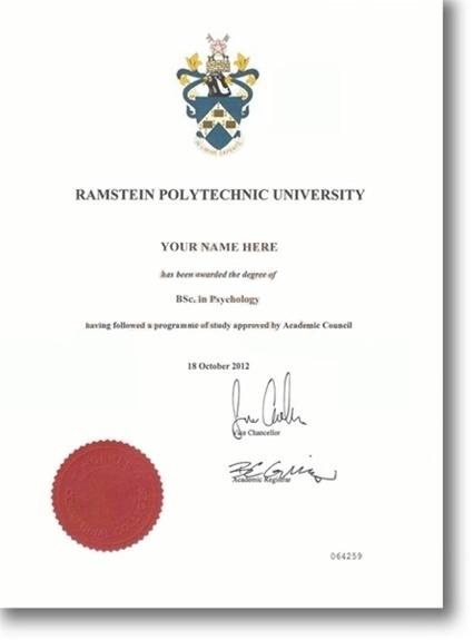 fake degrees free