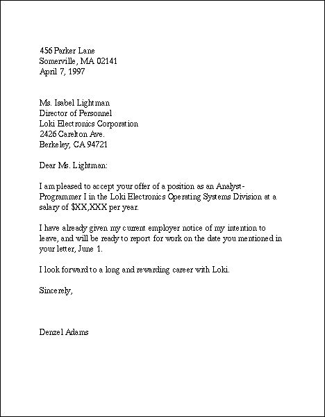 how to create a cover letter for employment