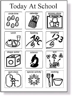 Visual Schedules For Students With Autism