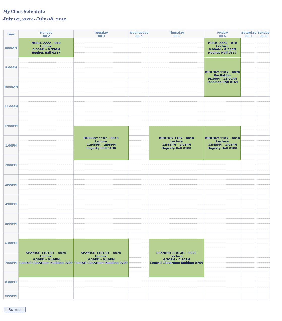 schedule planner online free