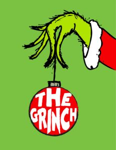 graphic regarding Grinch Printable identified as Grinch Night time! A Pleasurable Family members Xmas Culture! Letters