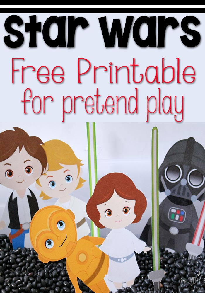 Star Wars Pretend Play Characters Printables 4 Mom