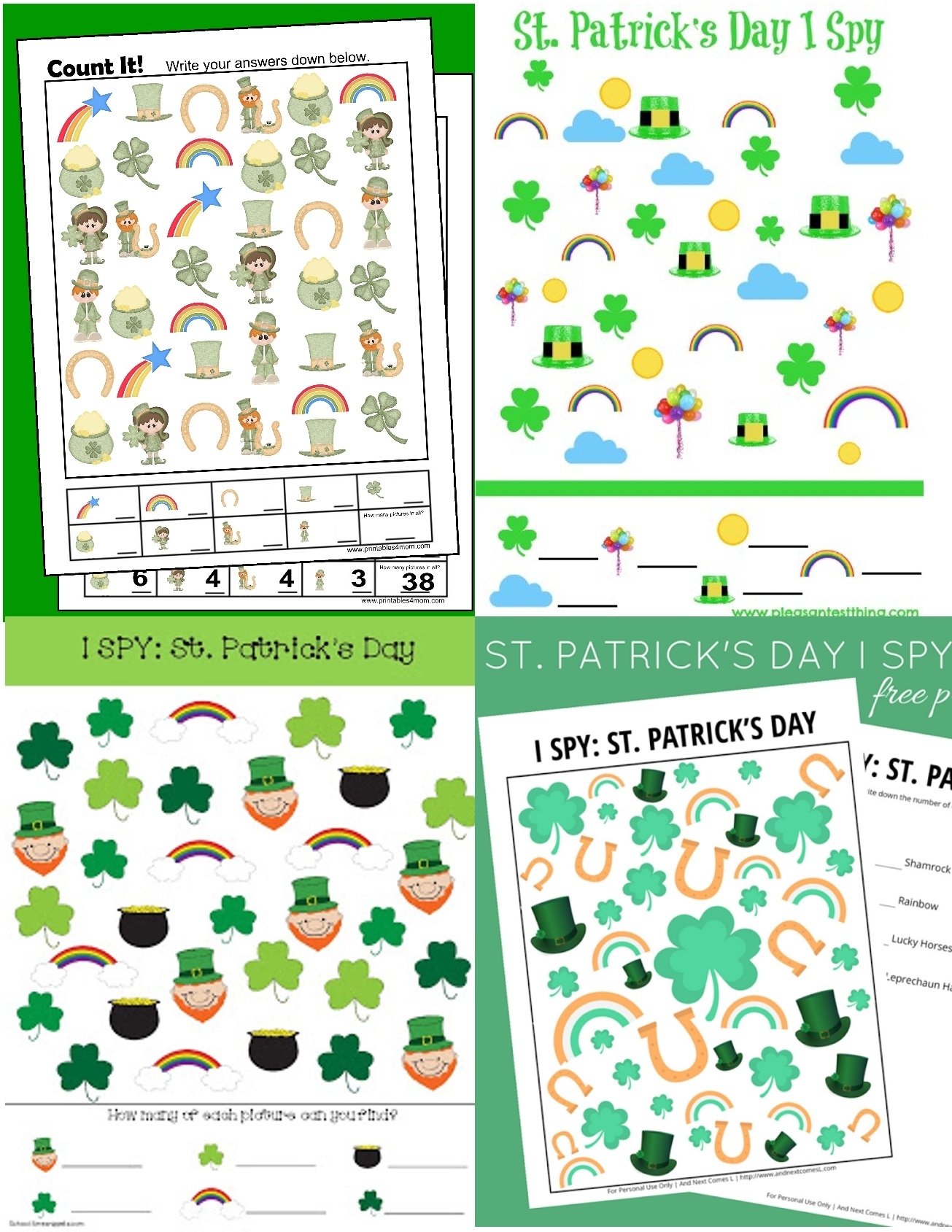 hight resolution of St. Patrick's Day Archives - Printables 4 Mom