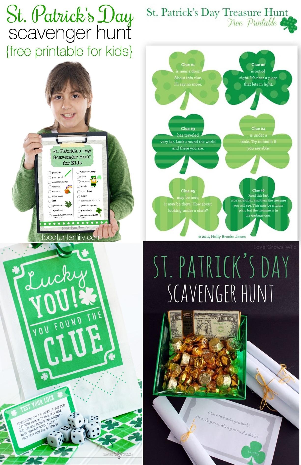 12 St Patrick S Day Game Printables