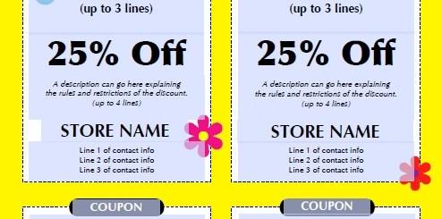 13 free sample kids discount coupon templates