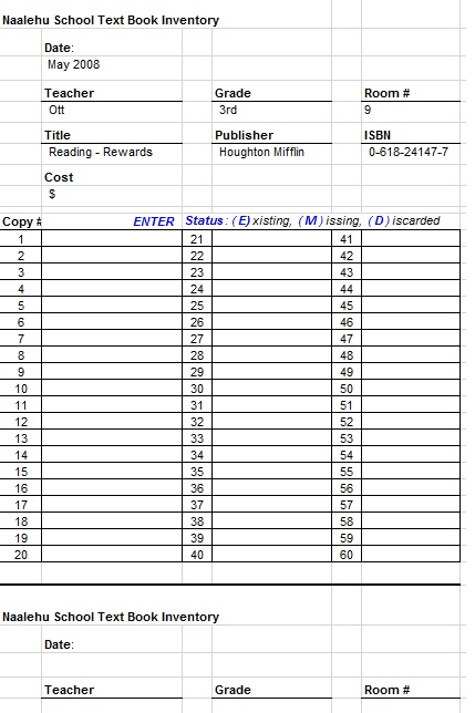 Free Sample Booklist Templates  Printable Samples