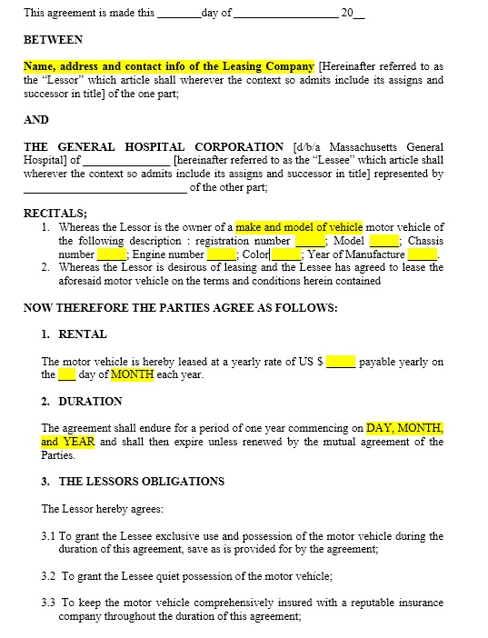 Here Is Preview Of This First Sample Office Sublease Agreement Template  Created Using MS Word,
