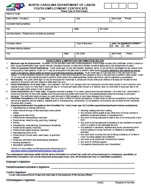 13 Free Sample Work Permit Certificate Templates Printable Samples