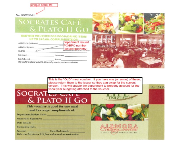 Free Sample Food Voucher Templates  Printable Samples