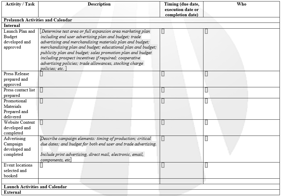 Here Is Preview Of Another Sample Product Schedule Template Created Using  MS Word,