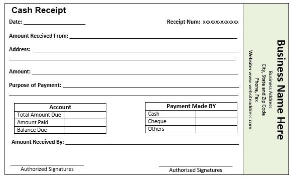 installment invoice template  9 Free Sample Loan Installment Receipt Templates - Printable Samples
