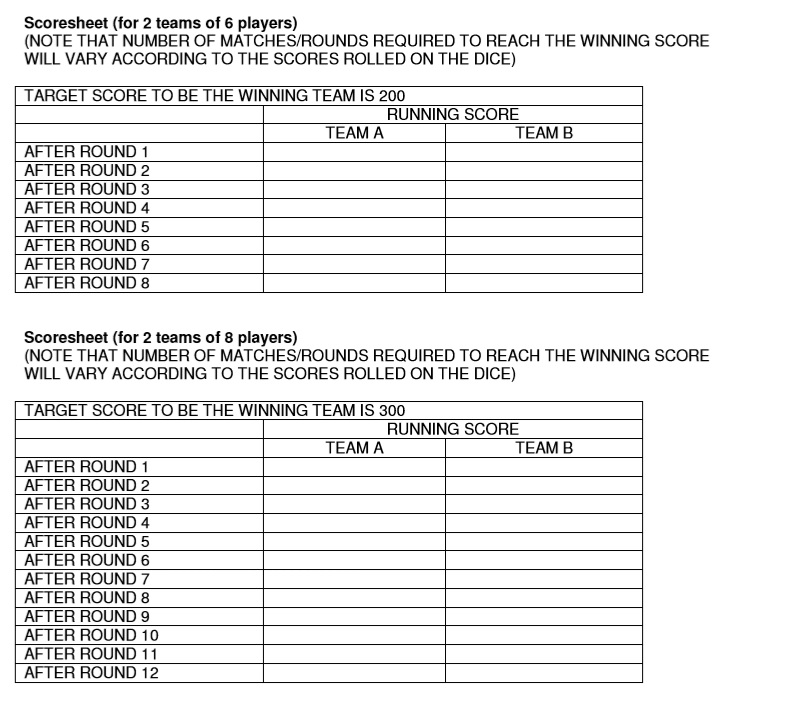 Tennis Score Sheet Printable Baseball Or Softball Score Sheets