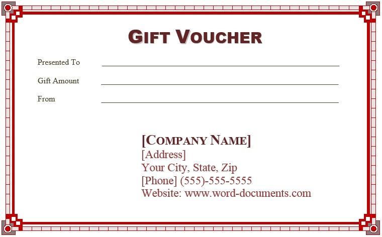 9 Free Sample Birthday Voucher Templates U2013 Printable Samples