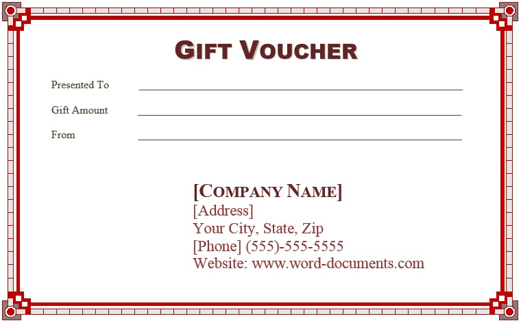 9 Free Sample Birthday Voucher Templates  Prize Voucher Template