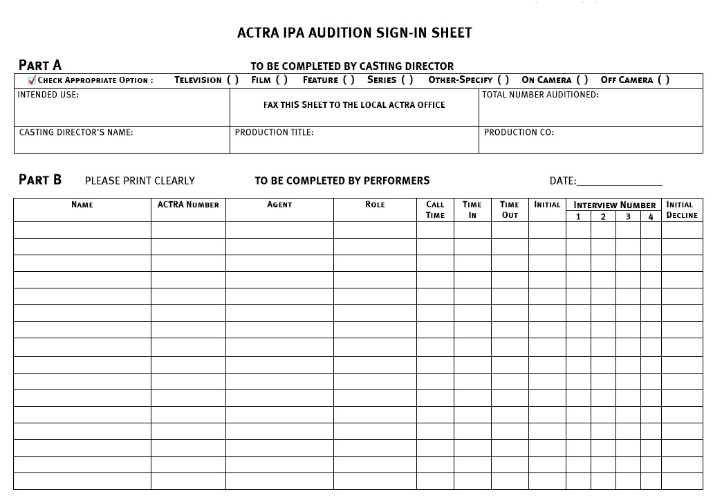 printable sign in sheet
