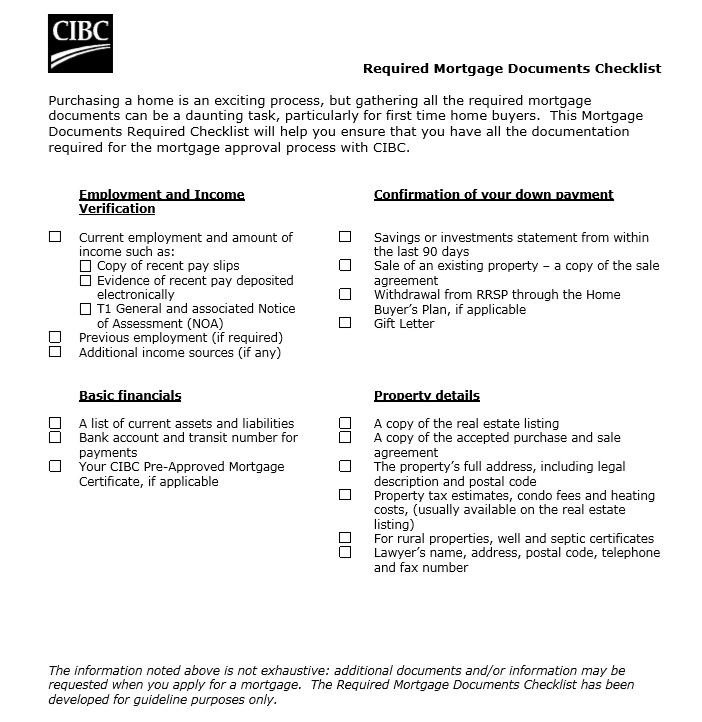 9 free sample home mortgage checklists printable samples here is preview of another sample home mortgage checklists template in pdf format yadclub Gallery