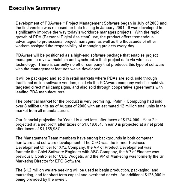 Here Is Preview Of Another Executive Summary Template For Customer Support  Services Created Using MS Word,