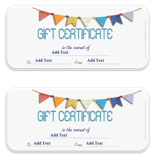 9 Free Sample Tourism Gift Certificate Templates – Printable Samples