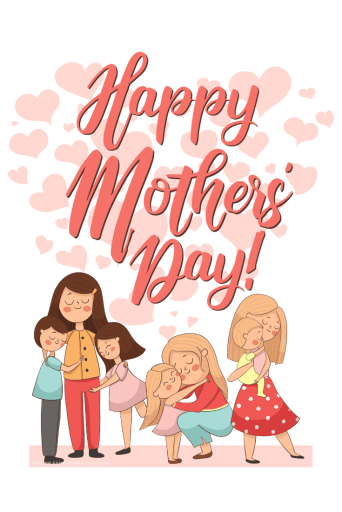 Mother's Day Cards - free printable greeting cards or posters for mothers. #mothersday #happymothersday #mothersdaygifts #freeprintable #printablesandinspirations