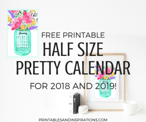 2019 Horizontal Calendar Weekly Planner Printables And Inspirations