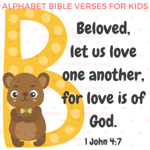 alphabet memory verses for kids, bible quotes for kids, bible verses from A to Z, bible verses for kids, scriptures for kids, free printable bible verses, Sunday school materials, printable memory verse cards