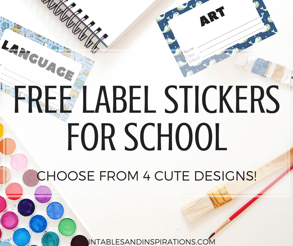 free cute label stickers