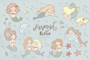 Mermaid graphics