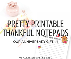 Free printable notepads plus easy diy gift ideas for friends and family this Christmas, or party giveaways! #diy #giftideas #freeprintable