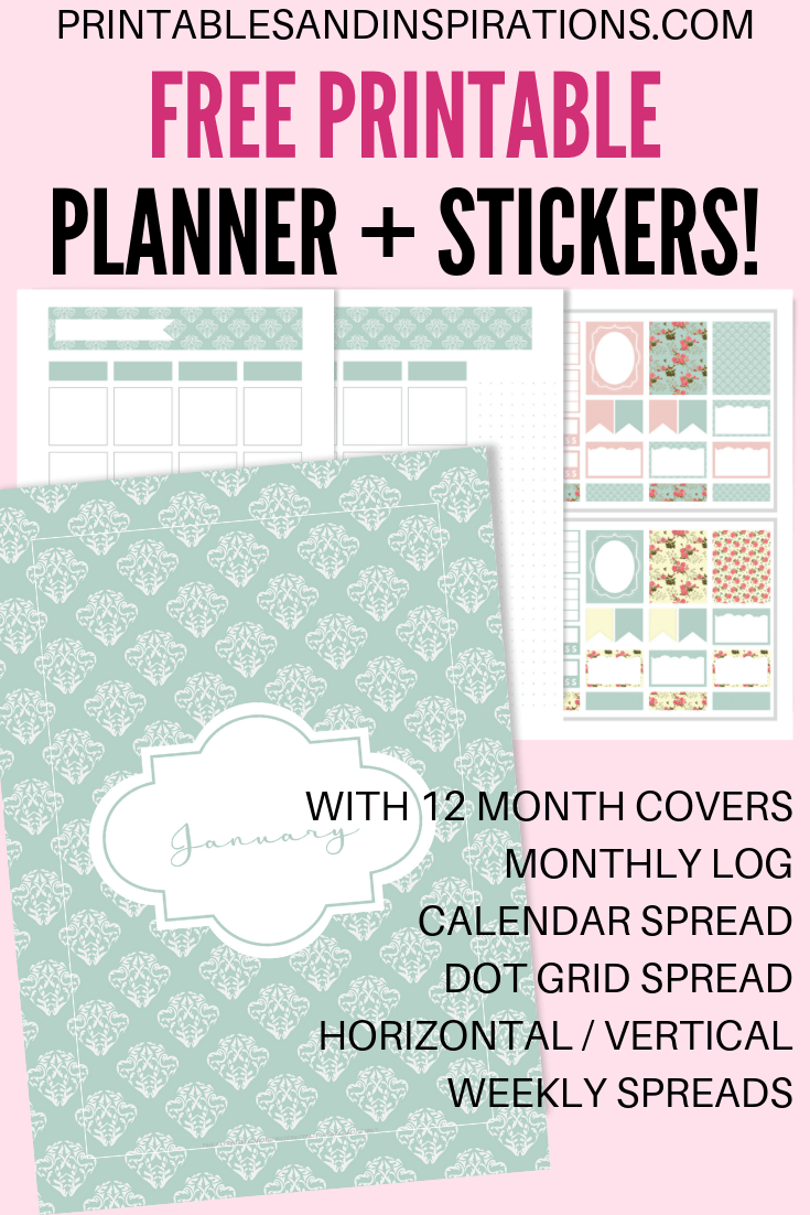 DIY Planner Printables For Any Year! - Printables and Inspirations