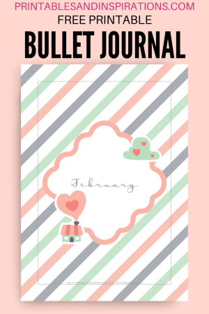 Bullet Journal Printables - free printable bullet journal template #bulletjournal #freeprintable #printablesandinspirations
