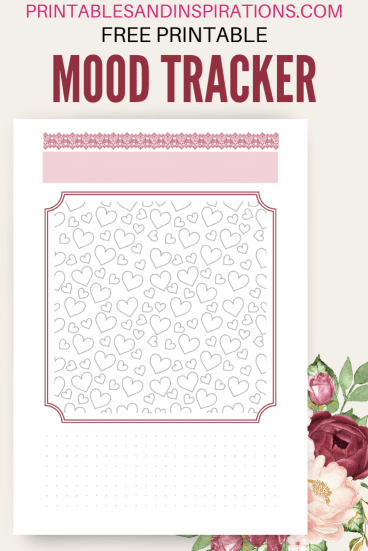 Free printable mood tracker - plus more bullet journal printables. Free PDF download! #freeprintable #printablesandinspirations #planneraddict #bulletjournal #bujoideas #bujoinspiration