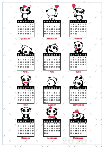Free Printable Panda Planner Planner Stickers Printables And Inspirations