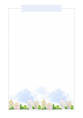 Dot grid printable - Download the stay home planner now! #freeprintable #printablesandinspirations #stayhome #bulletjournal