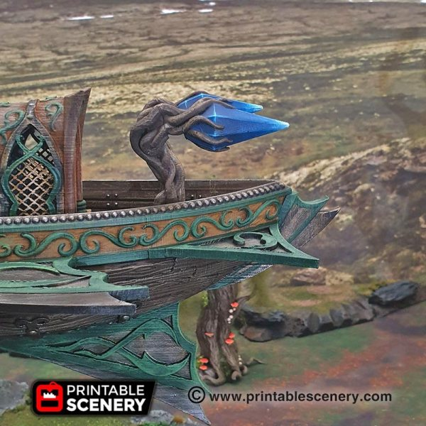 Ithillian Sky Port Printable Scenery - Year of Clean Water