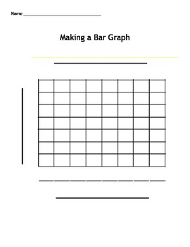 Bar Graph Template Word