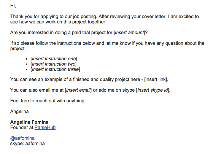 thank you for the interview email template
