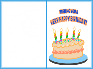 Printable Very Happy Birthday Cards
