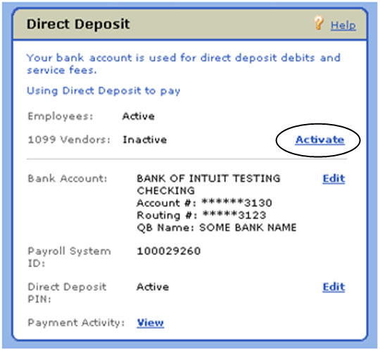 Personalized Direct Deposit Form Template